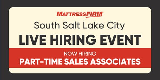 South Salt Lake City - Live Hiring Event