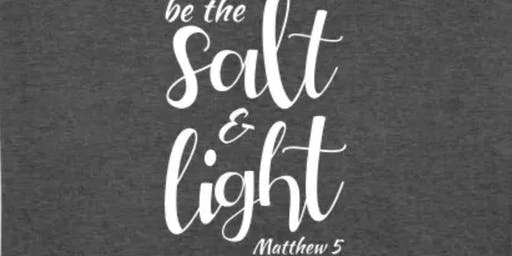 """be the Salt + Light"" in Cypress, Texas"