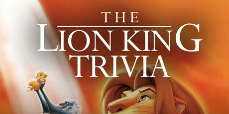 The Lion King (1994) Trivia tickets