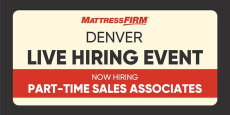 Denver - Live Hiring Event tickets