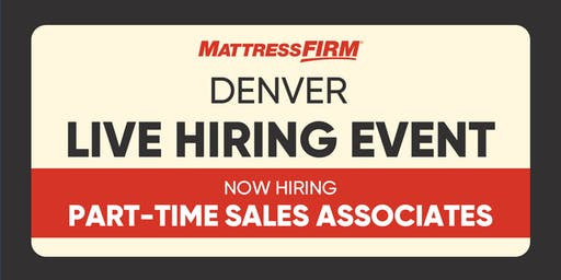 Denver - Live Hiring Event