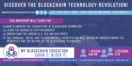 Discover the Blockchain Technology Revolution tickets