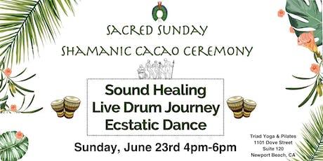 Shamanic Cacao Ceremony ~ Ecstatic Dance tickets