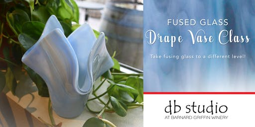 Drape Vase | Fusing Glass at db Studio