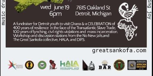 Juneteenth Celebration with The Great Sankofa