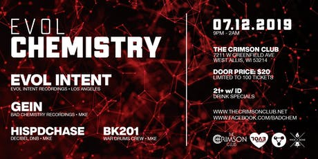 CHEMISTRY feat. EVOL INTENT tickets