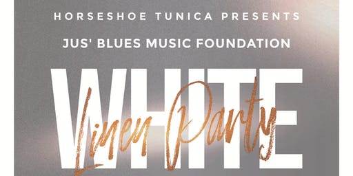JUS' BLUES WHITE LINEN PARTY  THEODIS EALEY & MS JODY LIVE  IN BLUESVILLE