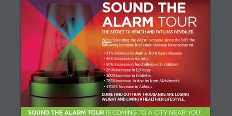 Sound the Alarm Tour - Lindon, UT tickets