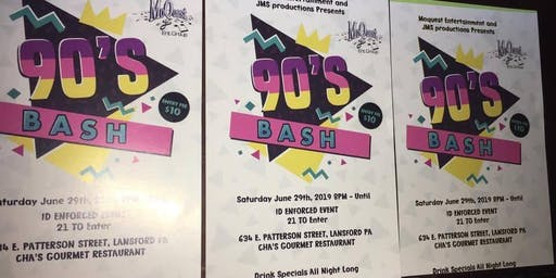 90's BASH by JMS Events