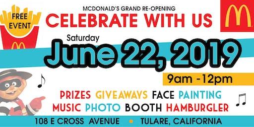 Grand Re-Opening Celebration