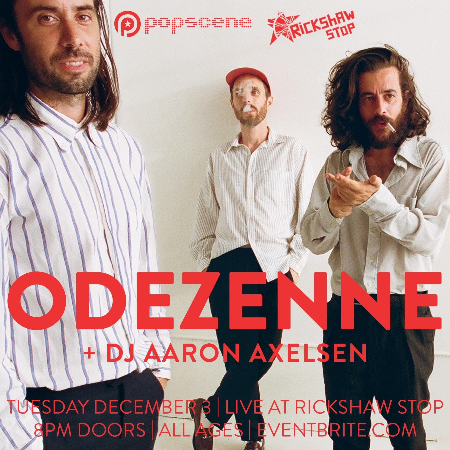 French electro band ODEZENNE's 1st SF show!
