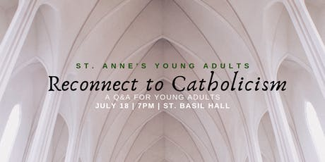 Reconnect to Catholicism Q&A tickets