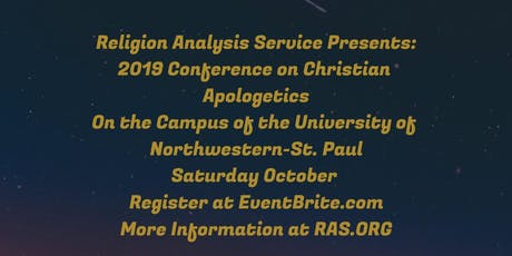2019 RAS Conference On Christian Apologetics tickets