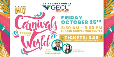 REALTOR® Rally 2019 - Carnivals around the World tickets