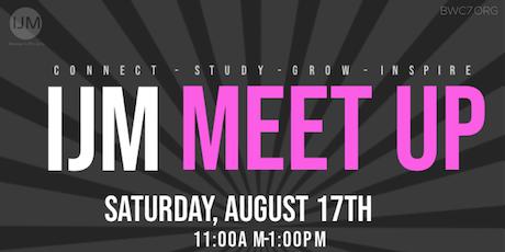 IJM Meet Up tickets
