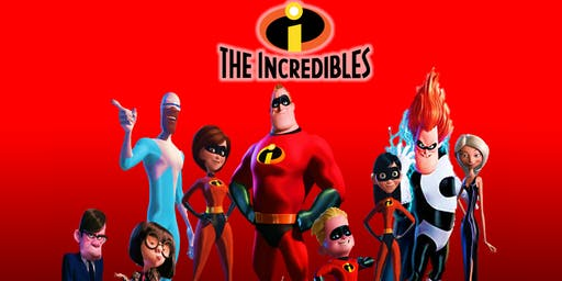 FREE - Movie  Night in the Park Showing Incredibles
