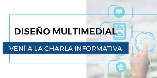 Charla informativa de Diseño Multimedial