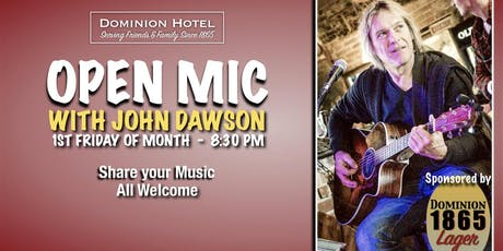 Open Mic with John Dawson tickets