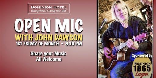 Open Mic with John Dawson