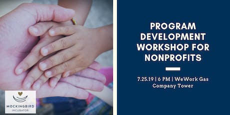 Program Development Workshop For Nonprofits tickets