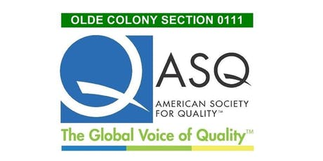 ASQ Olde Colony 06/19/2019 Monthly Meeting and Networking - A Clash of Personalities tickets