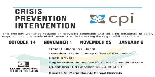 Crisis Prevention Intervention