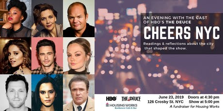 Cheers NYC: An Evening with the Cast of HBO's 'The Deuce' tickets