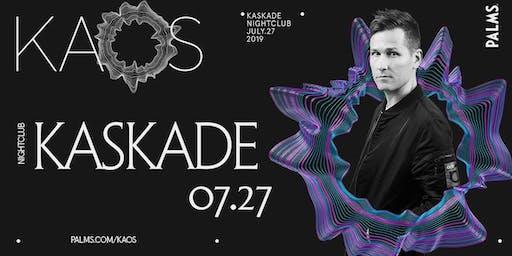 7.27 Kaskade @ KAOS Nightclub Las Vegas