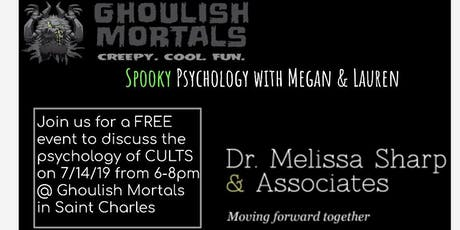 Spooky psychology with Megan and Lauren - CULTS tickets
