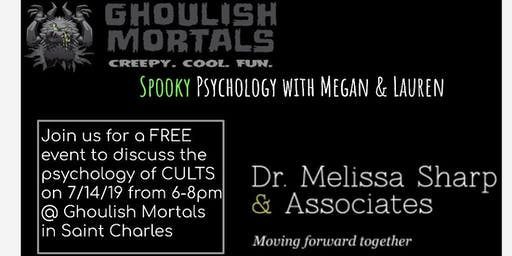 Spooky psychology with Megan and Lauren - CULTS