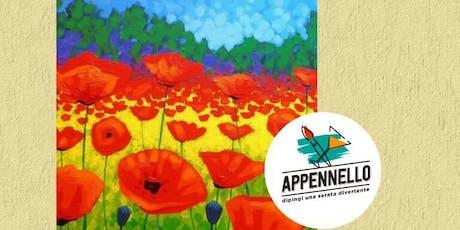 Papaveri, poppies: aperitivo Appennello a Milano biglietti