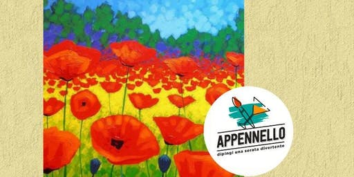 Papaveri, poppies: aperitivo Appennello a Milano