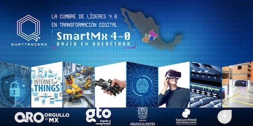 SMART MX 4.0. CUMBRE DE LIDERAZGO SOBRE DIGITALIZACIÓN INTELIGENTE INDUSTRIAL Y DE NEGOCIOS