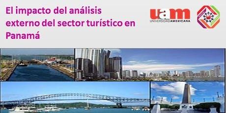 Seminario: El impacto del análisis externo del sector turístico en Panamá entradas