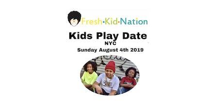 Kids Fashion Playdate tickets