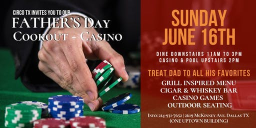 Father's Day Cookout + Casino