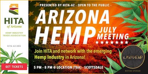 July's Hemp Industry Trade Association of Arizona Meeting
