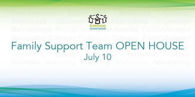 Family Support: OPEN HOUSE