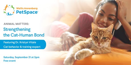 Animal Matters: Strengthening the Cat-Human Bond tickets