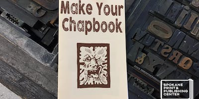 Make Your Chapbook Session Two: Letterpress Covers