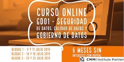 Curso ONLINE GD01 - Seguridad de datos, calidad de datos y gobierno de datos