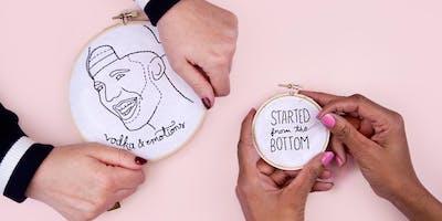 Make Cool Embroidery Wall Art