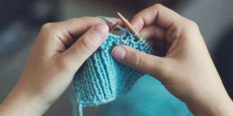 Knitting & Crochet Practice Circle tickets