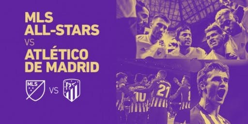 MLS All-Star v Atletico Madrid New Orleans Watch Party