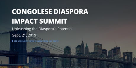 Congolese Diaspora Impact Summit tickets