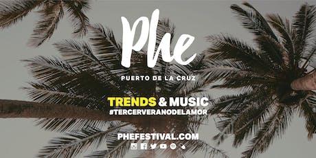 Phe Festival 2019 entradas