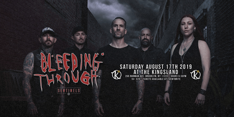 Bleeding Through, Sentinels + more at The Kingsland tickets