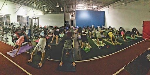 FITNESS TRIATHLON: Run + Bootcamp + Yoga!