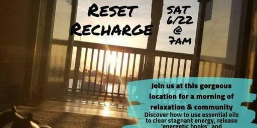 Release, Reset, Recharge with Essential Oils
