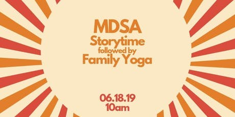 Free Community Storytime followed by a family yoga session tickets
